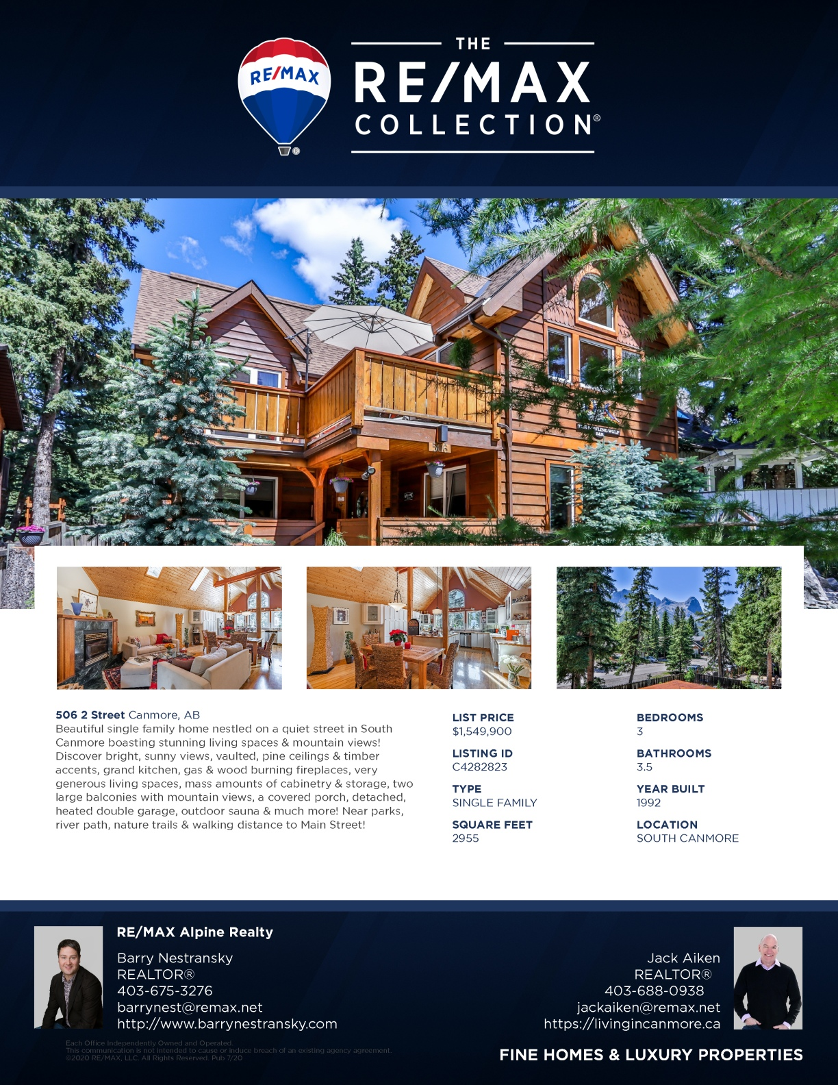506 2nd Street, Canmore